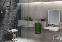 Salle de bain PMR & séniors / Pour une salle de bain sécurisée, adaptée à ses usagers et surtout qui peut être tendance !