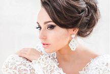 Wedding Hairstyles  / Santorini Wedding Planner