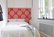 Vert small bedroom