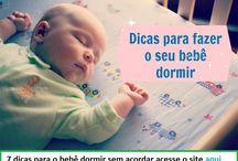 Como fazer bebe dormir / Aprenda como fazer seu bebê dormir a noite inteira sem acordar com as nossas dicas.