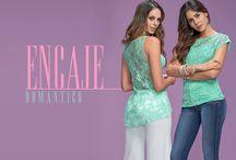 Colección Encaje Romántico / Invade con el encaje cubierto de flores y colores suaves que te enamorarán a primera vista....visita www.dupree.co