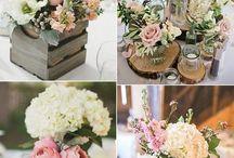 テーブル装花&ナンバー