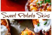 Appetizers / Sweet Potatoe Skins