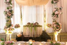 Luxury Elegant Garden Party Wedding / A luxury wedding styled as a fairy tale garden party at Deer Creek golf Course. With FOS decor Fabulous Occassions.