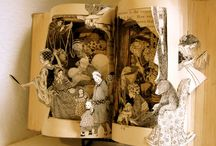 Book art / by Carrie