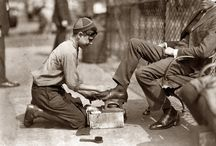 Travail des enfants vu par Lewis Hine