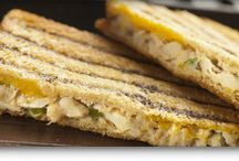 Grilled Cheese Sandwiches / Bored with plain Grilled Cheese sandwiches? Try one of these unique recipes on your favorite Aunt Millie's Bread.