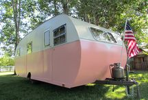 I want a trailer, too! / My dream of having a little home away from home. / by Jen Gay