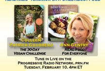 PODCAST - IT'S ALL ABOUT FOOD / Links to interviews with food experts on the Progressive Radio Network's program IT'S ALL ABOUT FOOD.