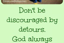 ♥ God's Encouragement ♥ / These 1-minute devotions from BibleLoveNotes.com give us ways to move from discouraged to encouraged in the Lord! Be Encouraged, my friends!
