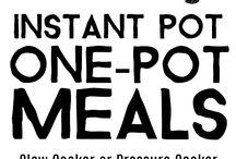 One pot meal, sheet pan meal, etc...