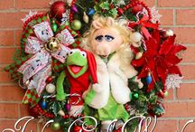 Muppet Wreaths - by Irish Girl's Wreaths