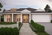 Single Storey Homes / A variety of styles and designs of beautiful single storey homes