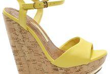 Sandalias plataforma yellow :)