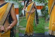 Anju Shankr's Designer Saree
