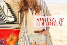 Regalinas Spring '16 Editorial / Spring '16 editorial. Bohemian look, festival mood!