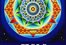 Daily Vibe Report: Today's Numerological vibrations! / Daily blog reports integrating Numerology, Sacred Geometry & the Tarot, based on the day's date, using the UNIVERSAL LANGUAGE Tarot deck and book by Rosalind Pape, and featuring Roz's hand-painted Numerology Mandalas