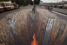 3D Arts, Abstract and Street Arts
