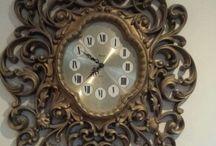 Часы каминные и настенные
