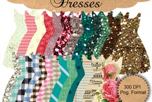 PAPERS - DRESSES