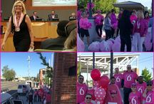 PINK the Blvd Campaign / The Party Concierge & The River District (Sacramento) partner with businesses in our district to PINK Richards Blvd. to raise awareness & donations in support of the Susan G. Komen Race for the Cure.