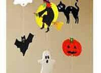 Halloween výzdoba pokojíčku