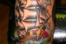 Ship tattoo references