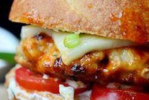 Burgers/ sandwiches / by Katie Hutcherson