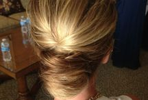 french twist hair