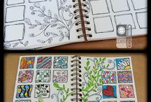 Art Journaling, Painting, Doodles, Calligraphy, Bookbinding... / by Bea Garcia Wignall