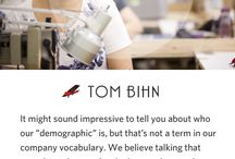 "TOM BIHN Company Philosophy / Business isn't ""business as usual"" here at TOM BIHN, and that takes some explaining. In 2013, we authored our first TOM BIHN Company Philosophy book as a way to help newly-hired folks get to know us a little better. Over the years, people have asked us to make a public version of our Company Philosophy, and here it is: https://www.tombihn.com/pages/company-philosophy"