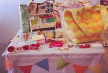 On display / Art show and craft fair display delights. / by Luscious Natha