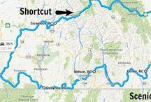 Road trips Canada  & USA