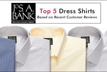 Top 5 / On this board we feature the top 5 suits, shirts, shoes or other items based on customer reviews. / by Jos. A. Bank