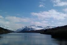 Snowdonia mountains
