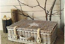 плетение в интерьере