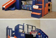 Bedroom for kids boy