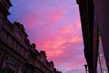 pastel // pink skies