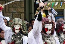 Europe du sud - masques / Masques populaires des pays d'Europe méditerranéenne