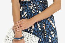 Silk drape dresses