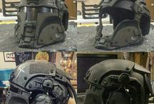 Airsoft face armour
