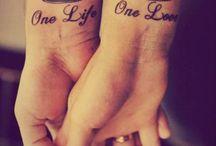 his hers tatoos