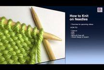 Knitting Tutorials / by Alexandra Kirsch