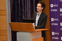Stern Launch 2014 / Faculty, administrators, and fellow students welcome the MBA Class of 2016 to NYU Stern!