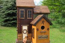 kuş ve köpek evi