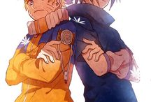 Naruto and Sasuke BFF