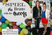 Spiel the Beans... / This is a feature's board from the Spiel the Beans link party from Queen in Between and Queen of the Kings!