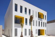 Beautiful facade / Beautiful facade in architecture