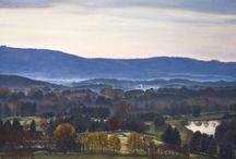 Landscape Paintings of the Blue Ridge, VA