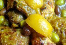 poulet au olives